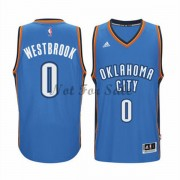 Oklahoma City Thunder Basket Tröja Russell Westbrook 0# Road